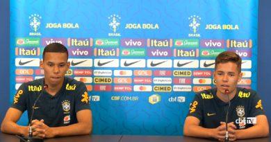 Sub-17: Confira a entrevista de Pedro Lucas convocado para a copa do mundo.