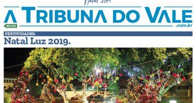 Leia o jornal A Tribuna do Vale, Edição Especial Natal 2019!