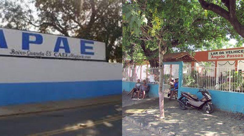 Emenda Federal garante R$ 450 mil para APAE e Lar da Velhice de Baixo Guandu-ES.