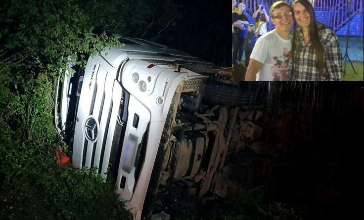 Tragédia! Casal de Santa Maria de Jetibá morreu em acidente na Bahia.