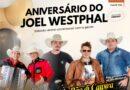 Aniversário do Joel Westphal hoje no Sítio Westphal
