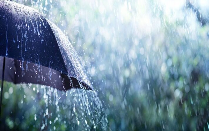 Alerta de chuva intensa e perigo para todos os municípios capixabas.